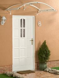 stříška nad dveře LANITPLAST LEO 160/90 bílá
