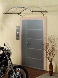 stříška nad dveře LANITPLAST LEO 160/90 stříbrná