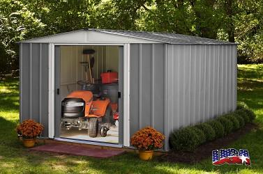 zahradní domek ARROW DRESDEN 1012 šedý